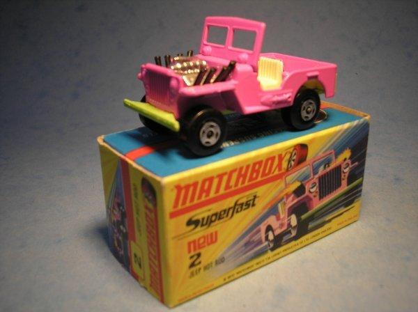 378: Matchbox Superfast,2B CM1, Jeep Hot Rod