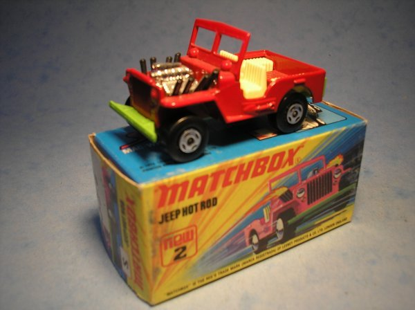 379: Matchbox Superfast,2B CM9, Jeep Hot Rod