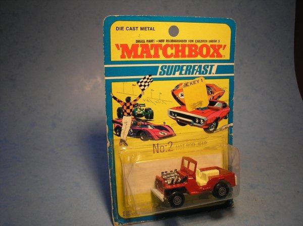 380: Matchbox Superfast,2B CM11, Jeep Hot Rod
