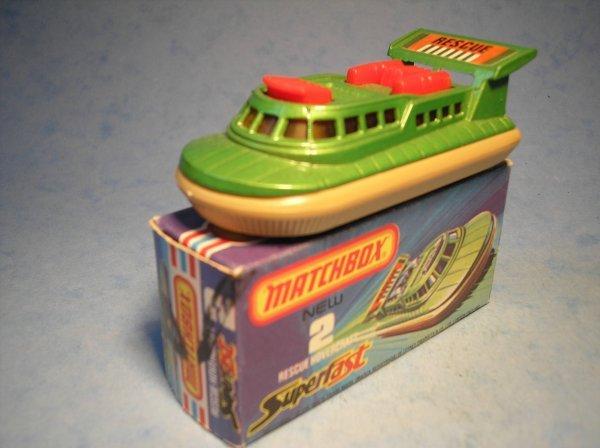 381: Matchbox Superfast,2C CM13, Hovercraft