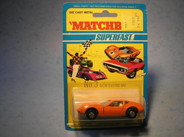 387: Matchbox Superfast, 3B CM1, Monteverdi Hai