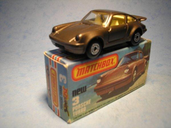 389: Matchbox Superfast, 3C CM2, Porsche Turbo