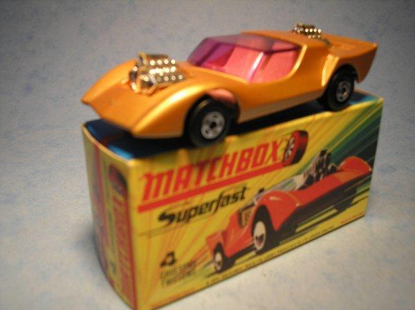 393: Matchbox Superfast, 4B CM7, Gruesome Twosome
