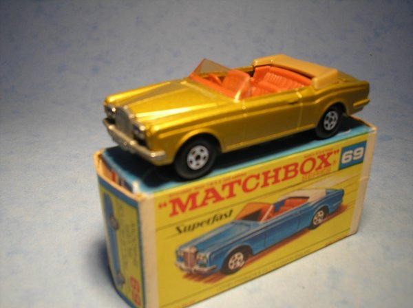 781: Matchbox Superfast, 69A, CM5, Rolls Royce Silver S
