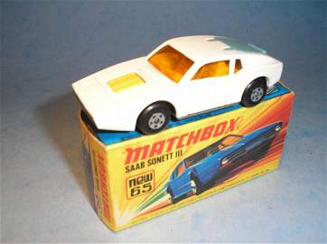 821: Matchbox Superfast, 65A, CM2, Saab Sonnet
