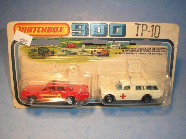 880: Matchbox Superfast, Twin Pack, TP10