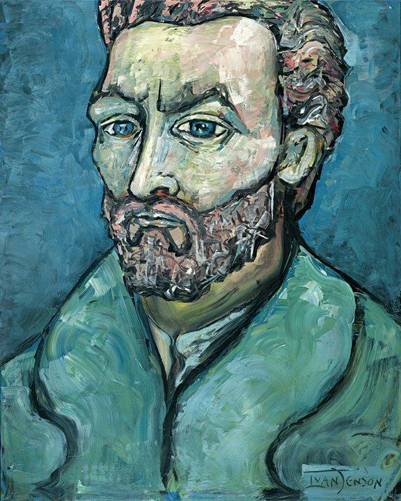 "1: ""Vincent Van Gogh"" Original by Ivan Jenson 48"" x 60"""