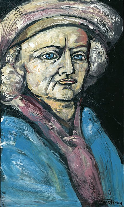 "20: ""Rembrandt"" Original by Ivan Jenson 36"" x 60"""