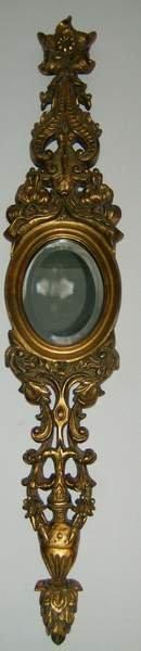 5: Pair of decorative beveled glass mirrors