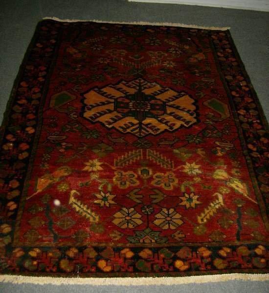 7: 5'8 x 4'3 Hamadan carpet