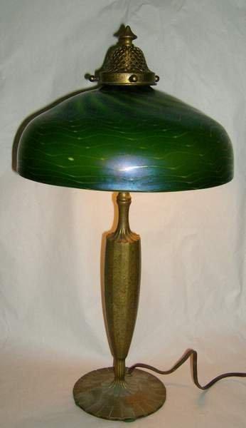 10: Tiffany lamp base #616