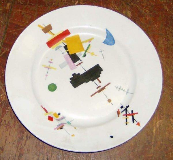 151: Russian Porcelain plate