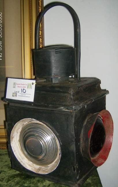 10: Kerosene Railroad lantern