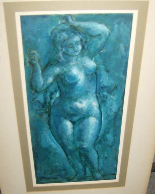 141: Oil of a Nude by David Burlick