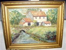 144: Oil on board by Marion Greenwood