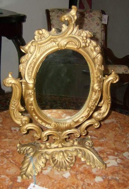 2: Victorian cast mirror