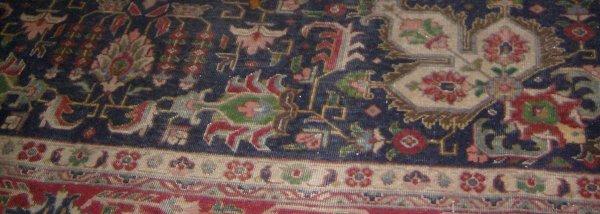 15: Saruk carpet, 7'1 x 10'10