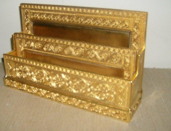 17: Tiffany Studios Venetian letter rack #1644