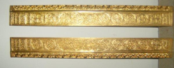 19: Tiffany Studios Venetian blotter ends #1696