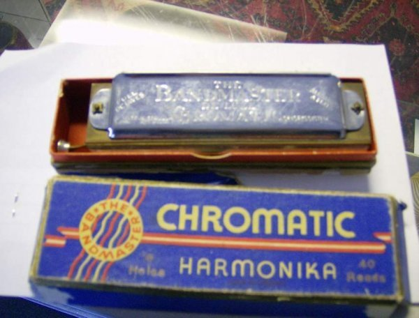 306: The Bandmaster Deluxe Chromatic Hamonika