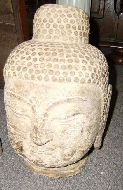 310: Stone Buddha Head