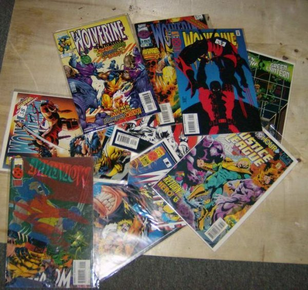 312: Four boxes of comics