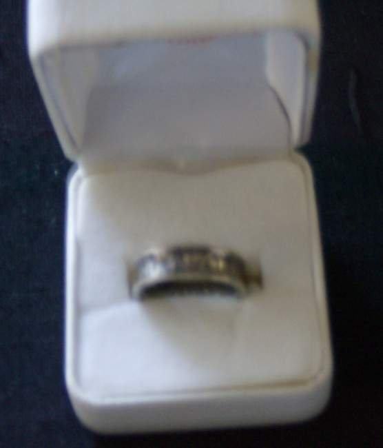 321: Tiffany & Co sterling silver ring