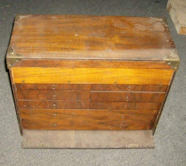 2: Mahogany machinist chest