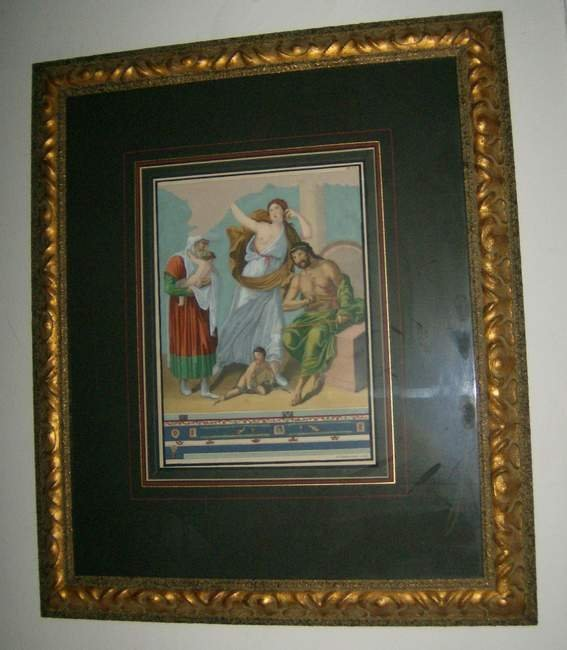 10: Two decorative Italian Prints