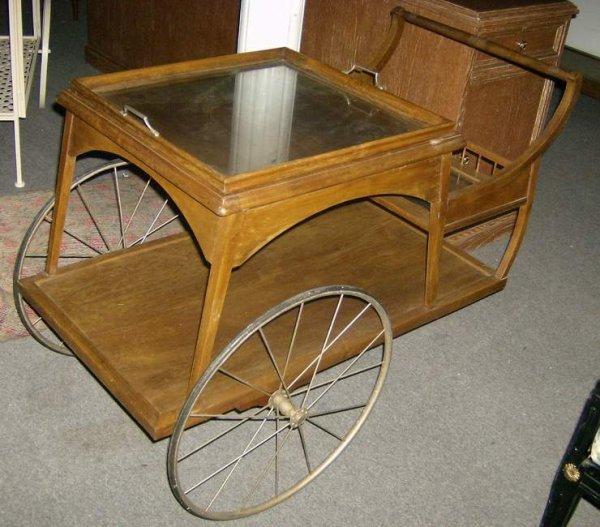 11: Tea cart