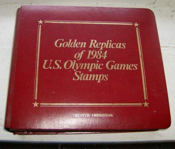 10: Album of 1984 Golden Replicas Olympia Games