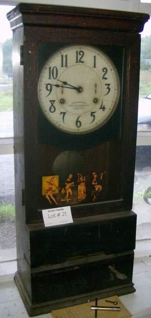 21: International Time Recording Company Clock