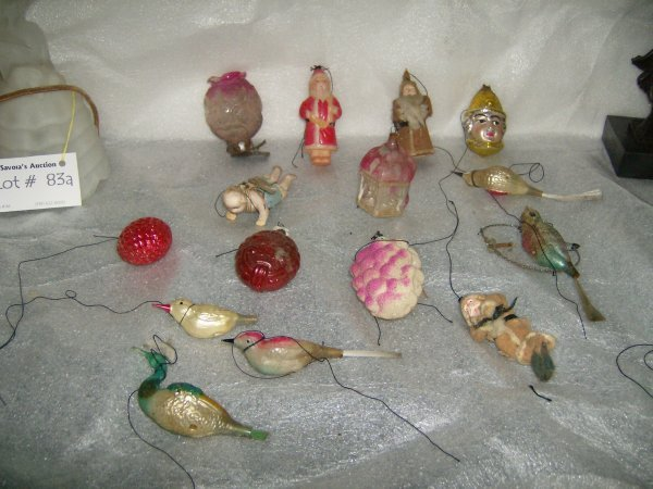 301: Large lot of Christmas ornaments