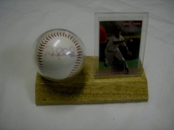 4: Derek Jeter autographed ball with card