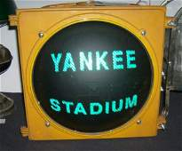 37: Yankee Stadium Street  Light