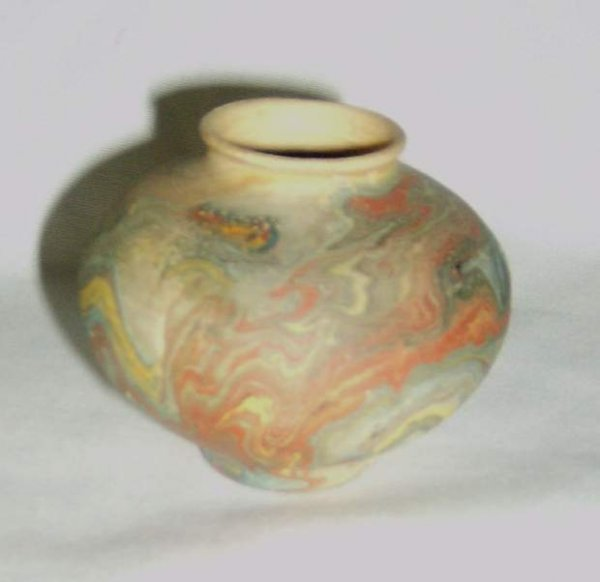 303: Three pieces of Art Pottery