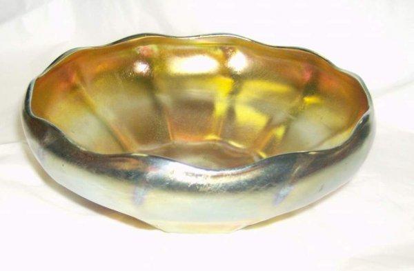 319: L.C. T. Favrile bowl