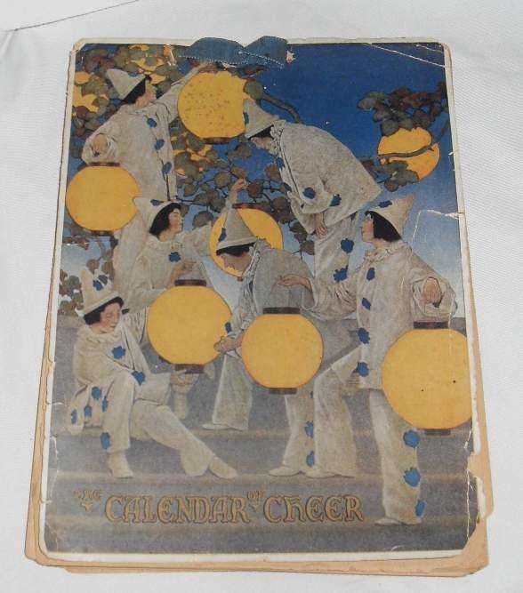 "19: Maxfield Parrish ""The Calendar of Cheer"" # 5897, C1"