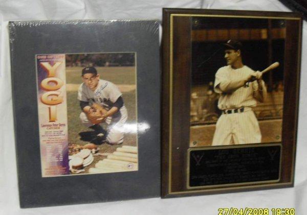 11: Yogi Berra & Lou Gehrig