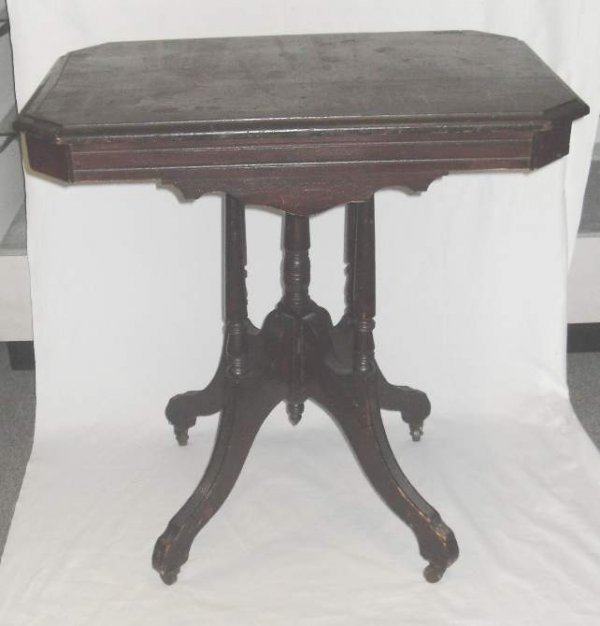 15: Victorian center table