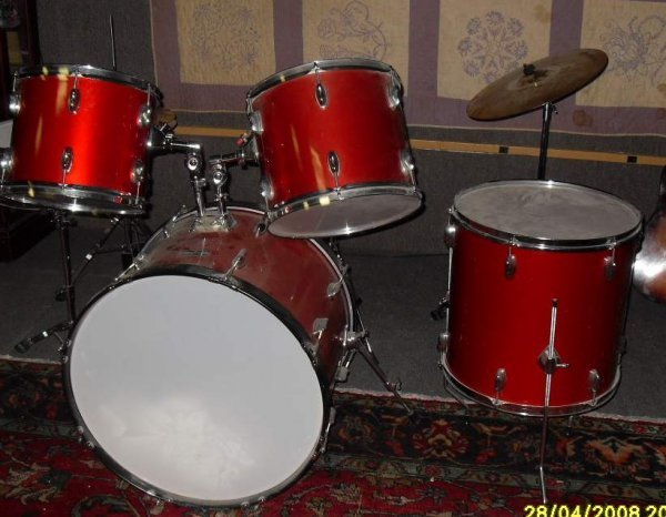 136: Enforcer drum  set