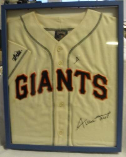 13: Willie Mays Autographed Jersey
