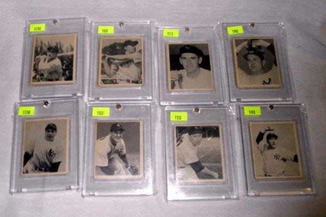 22: 1948 Bowman Yankee Team Set