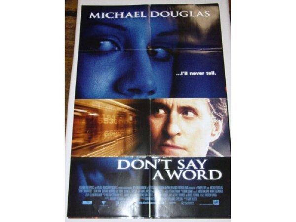 8: 3 - 1 Sheet movie posters - Wonder Boys -