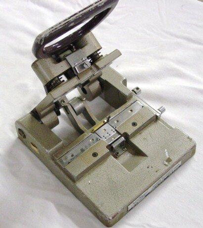 19: Neutaper Film Splicer 16mm film