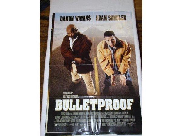 22: 7 - 1 sheet movie posters - Bulletproof -