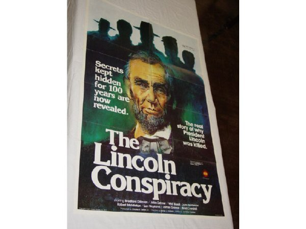 365: The Lincoln Conspiracy one sheet movie poster