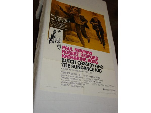 421: Butch Cassidy and The Sundance Kid one sheet