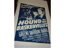 510: The Hound of Baskervilles one sheet movie