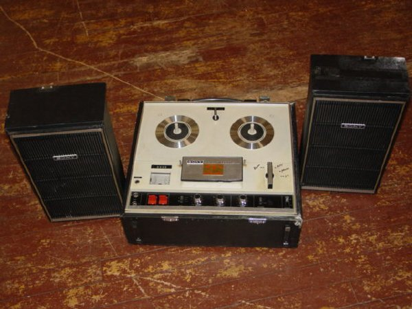 1006: Sony Stero Tapecorder-Model TC-252